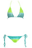 Beauty & the Beach Itsy Bitsy Crochet Bikini in Aquatique | Salamander Shop