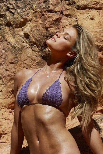 Beauty & the Beach Shimmer Itsy Bitsy Bikini Amethyst SI Swimsuit | Salamander Shop