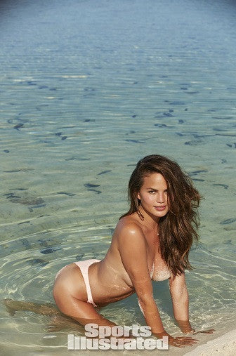 Eberjey Sea Stripe Reversible Bikini Bottom Chrissy Teigen Salamander Shop