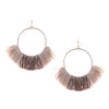 Ettika Wanderlust Warrior Earrings Rose Beige Shop Salamander
