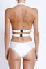 Fella Swim Finn One-piece in White Back Salamander Shop