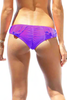 Tyler Rose Battle of the Dragon Ruched Bikini Bottom Salamander Shop