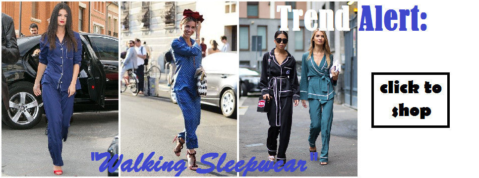 Shop Pajama on the Streets Trend