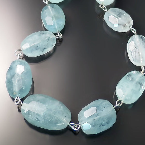 aquamarine jewelry sterling silver