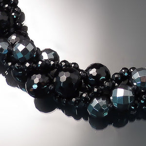 black onyx and hematite jewelry