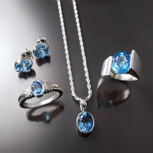 blue topaz jewelry