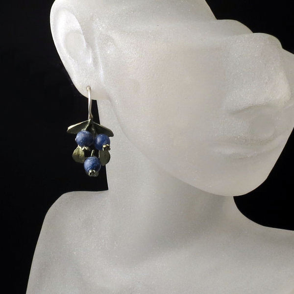 Shop Nature Jewelry Blueberry Earrings
