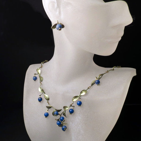 Blueberry Jewelry Set