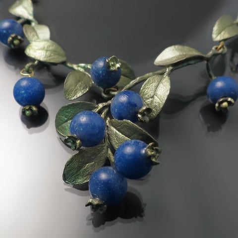 Michael Michaud Blueberry Necklace