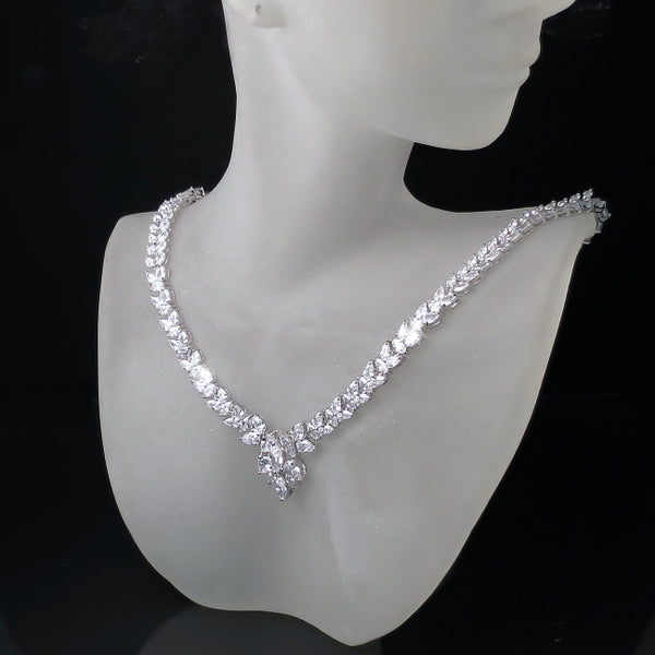 bridal necklace vintage classic glamour