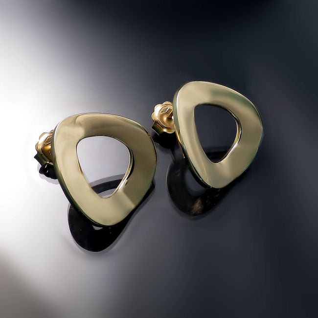 contemporary gold jewelry