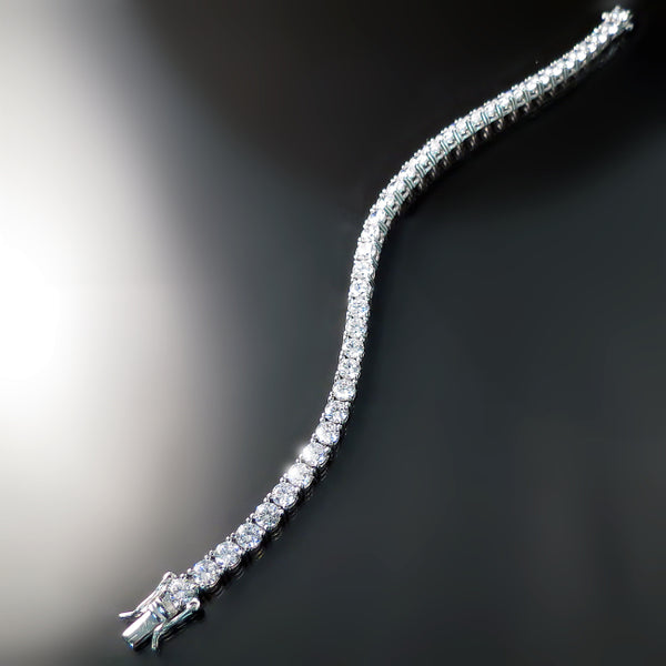 Imitation Diamond Tennis Bracelet - CZ Cubic Zirconia Jewelry