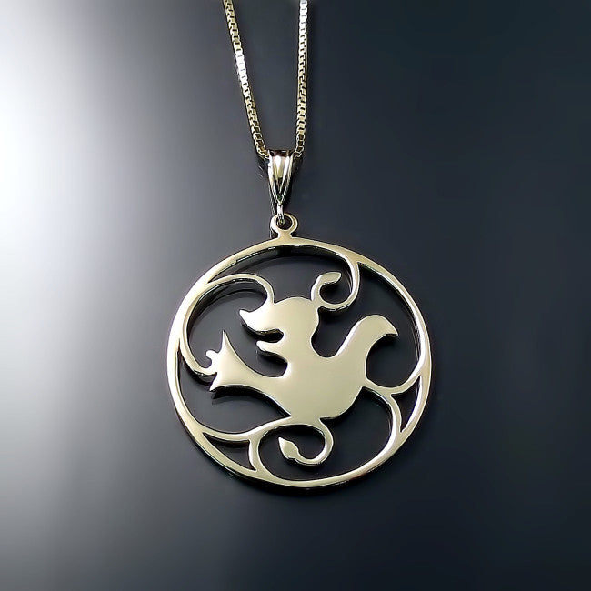 dove pendant necklace