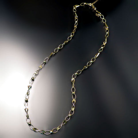 fancy gold necklace chain