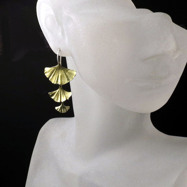 Ginkgo Leaf Jewelry Michael Michaud