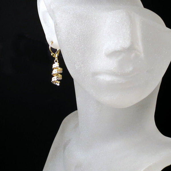 gold jewelry earrings
