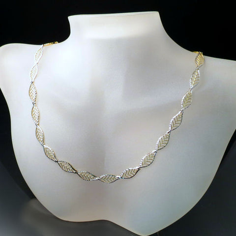 Unique Modern Gold Necklace