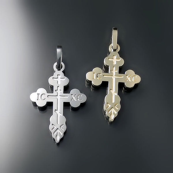 gold orthodox crosses online shop