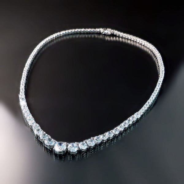 Imitation Diamond Necklace CZ Jewelry
