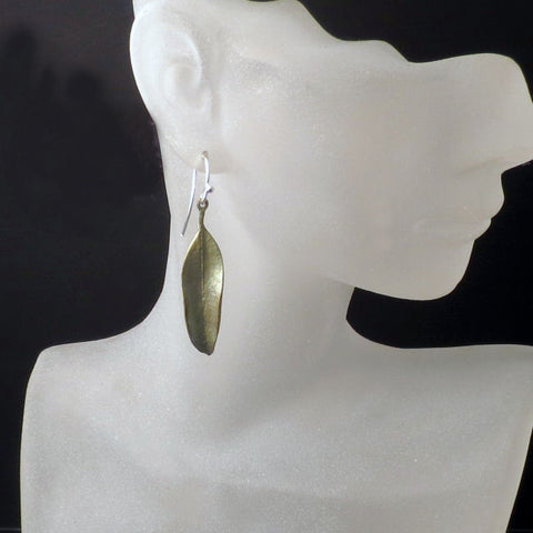 Leaf Earrings Jewelry by Michael Michaud