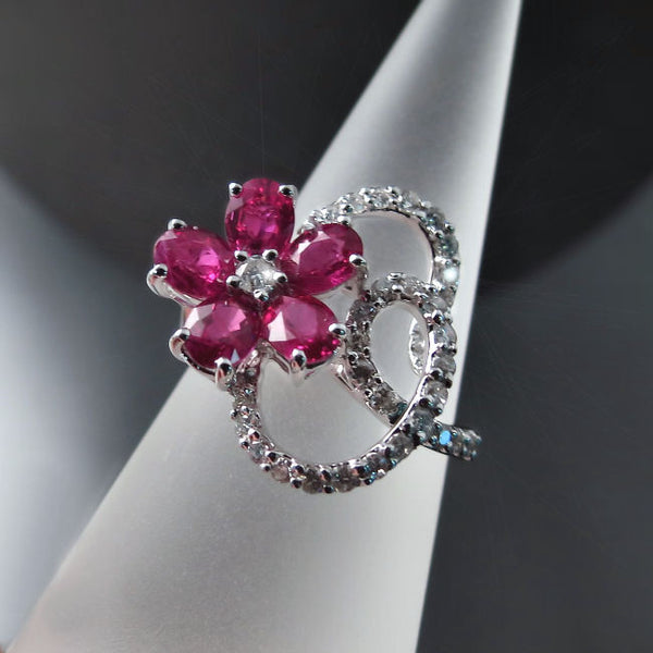 Jewelry with Rubies and Diamonds