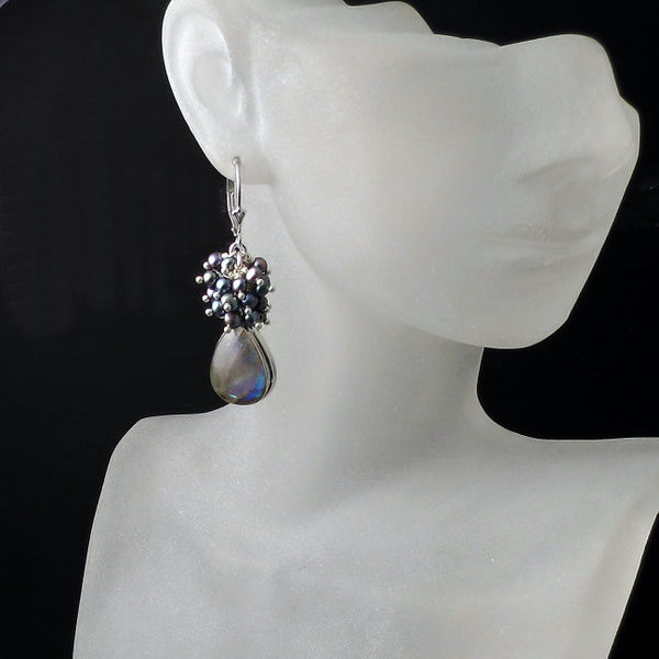 shop labradorite earrings