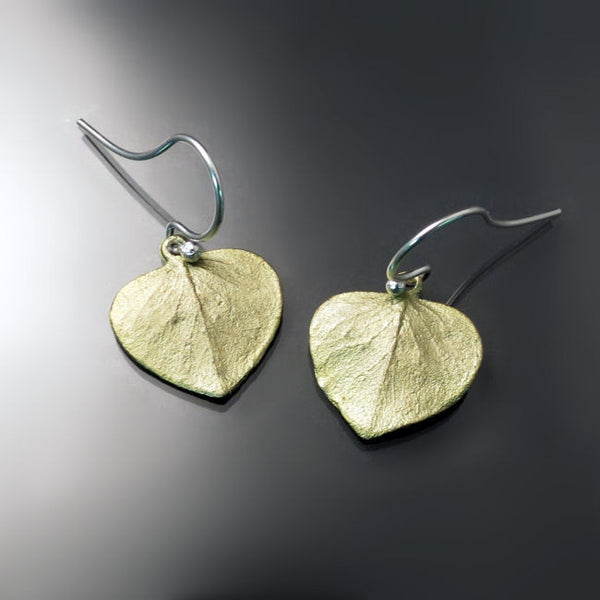 Leaf Earrings Artisan Jewelry