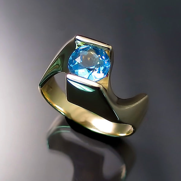 modern design rings gold