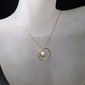 modern minimalist jewelry pearl necklace