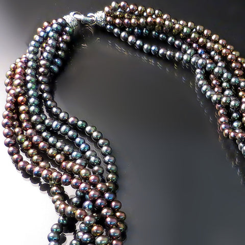 Black Pearl Necklace - Black Pearl Jewelry