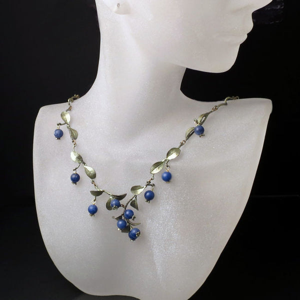 Nature Jewelry Blueberry Necklace