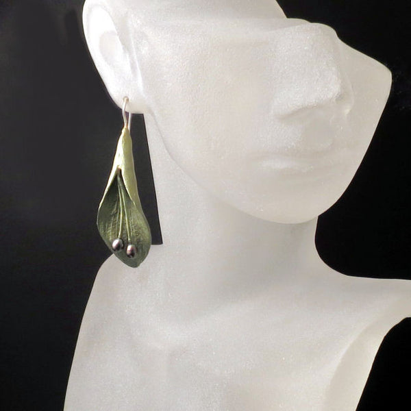 Nature Jewelry Leaf Earrings