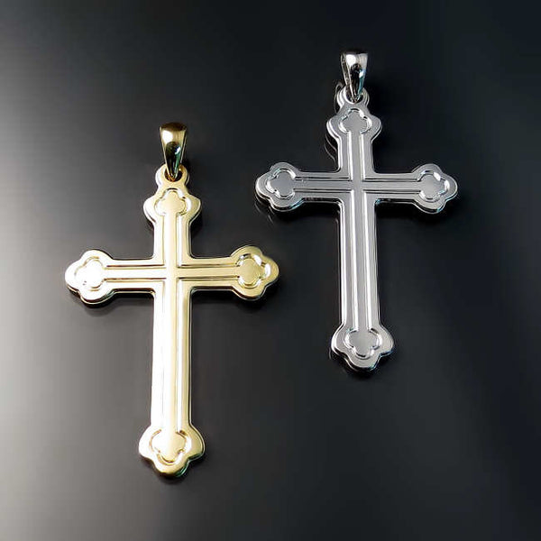 orthodox cross pendants