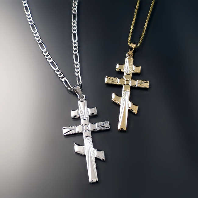 orthodox cross three bar