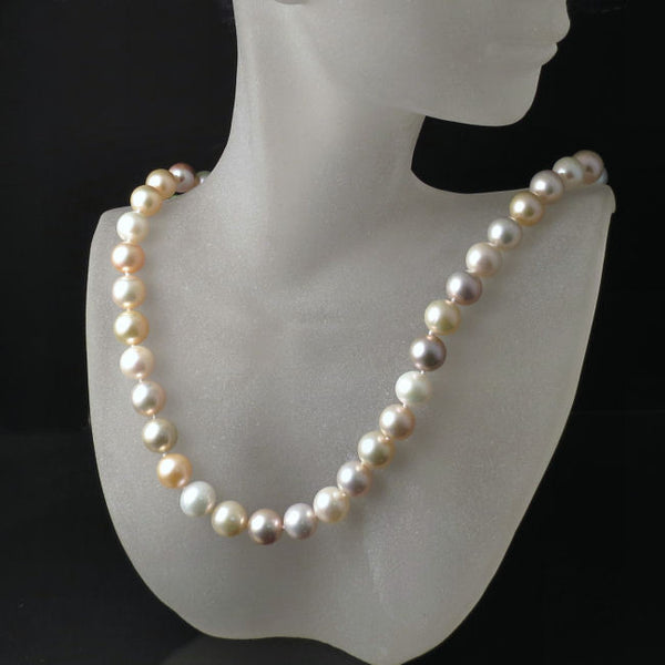 Pastel Pearls Necklace