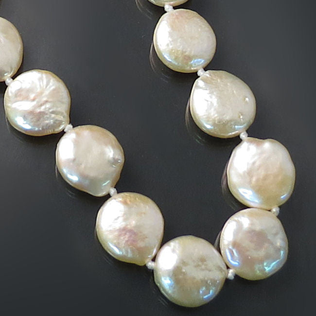 Peach Coin Pearls Pearl Jewelry