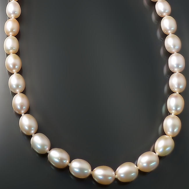 Peachy Pink Pearls Pearl Jewelry