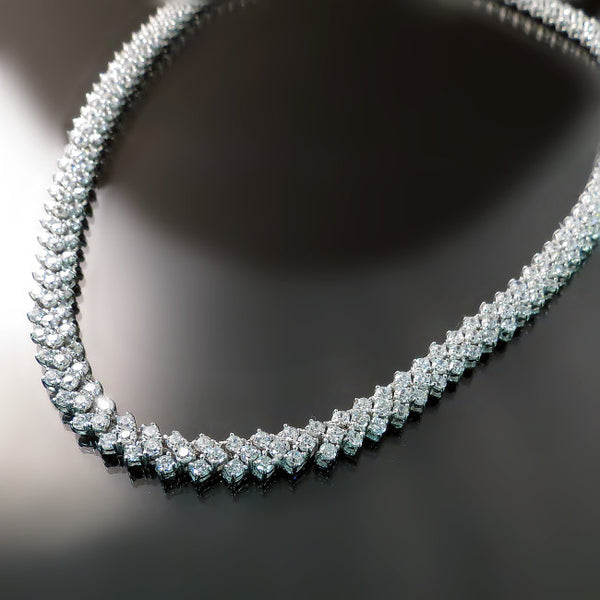Bridal Jewelry: CZ necklace for wedding or special occasion