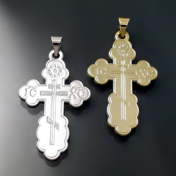 russian greek and ukrainian orthodox crosses