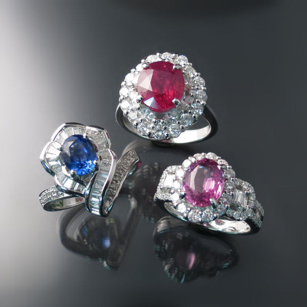 Shop sapphire ruby diamond rings