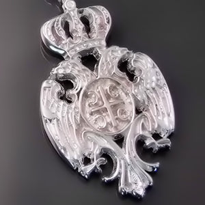 serbian eagle pendant shop orthodox jewelry