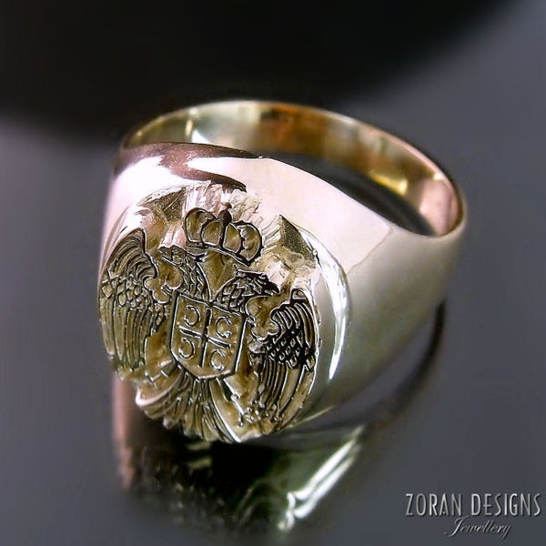 Serbian Eagle Ring