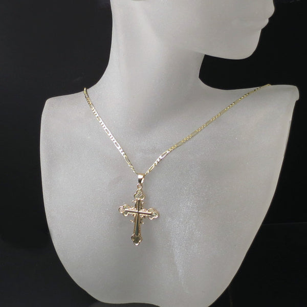 serbian orthodox cross and chain