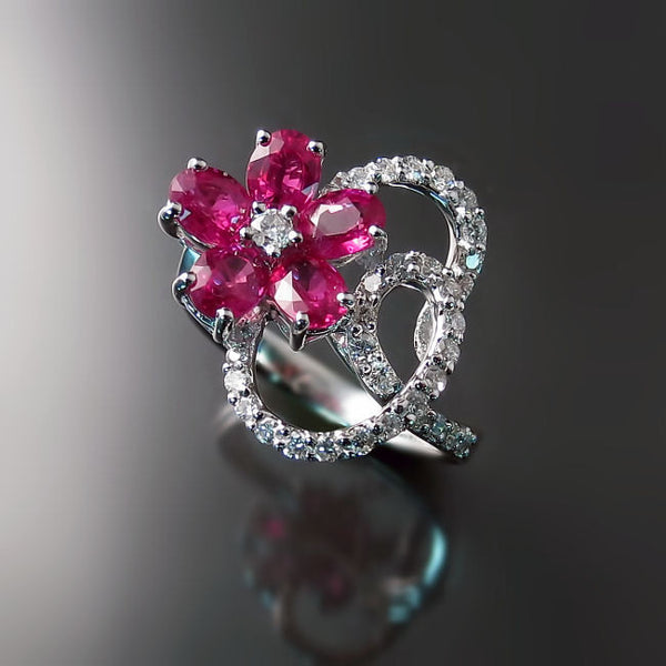 Shop Ruby Rings Diamond Designer Jewelry
