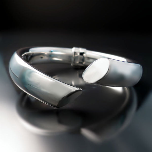 sterling silver jewelry architectural bracelet