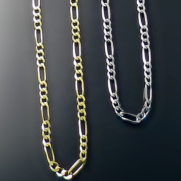 gold figaro chains