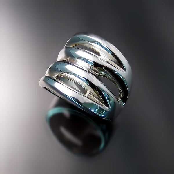 statement ring sterling silver