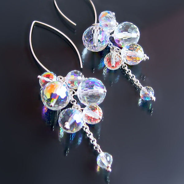 Statement Earrings Swarovski Crystal