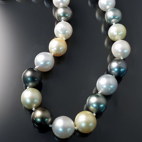 Tahitian South Sea Pearls Necklace