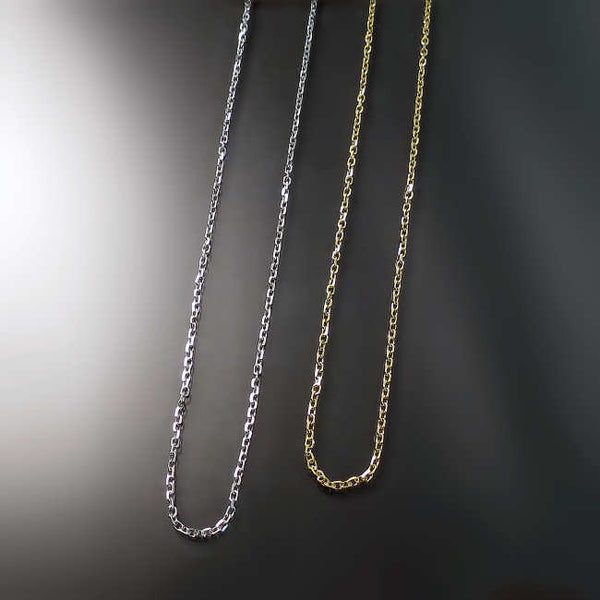 thin gold cable chain